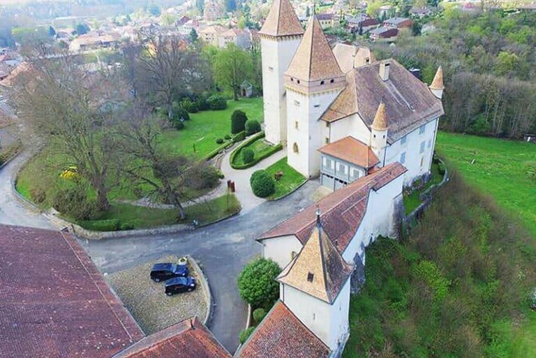 Bollini - Rénovation - Château de la Sarraz
