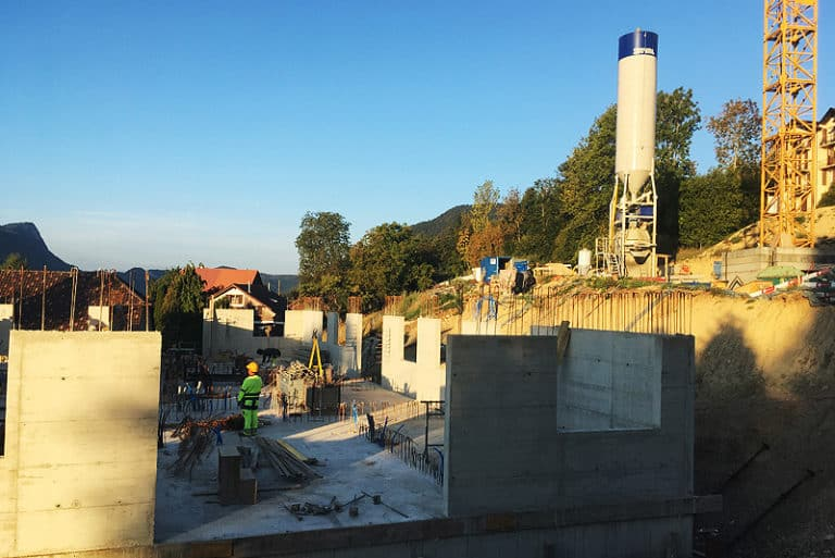 Bollini - Bâtiment - Construction d_un bâtiment R+1