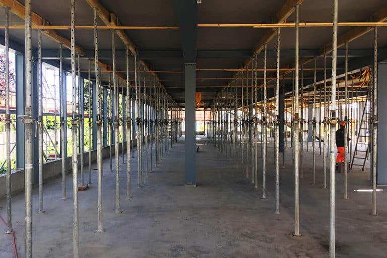 Bollini - Bâtiment - Construction d_une halle industrielle