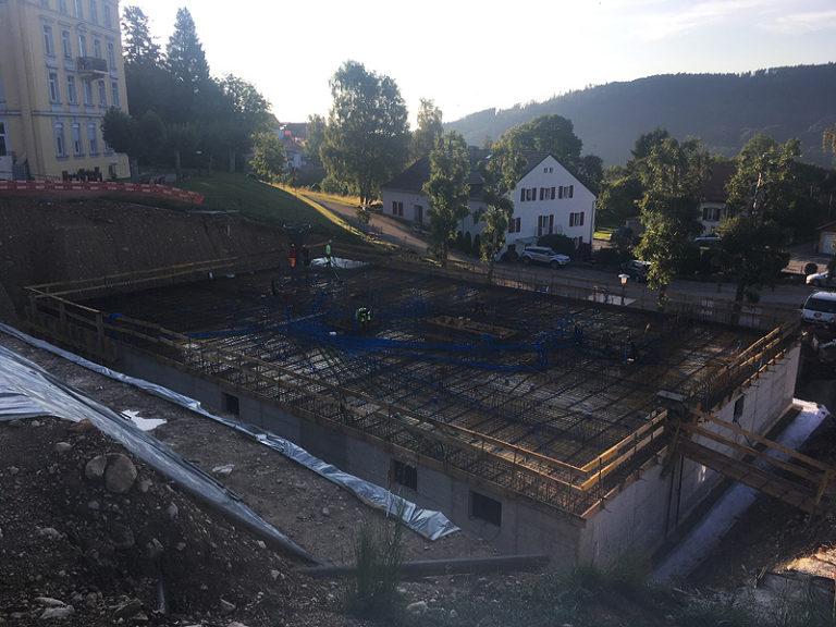 Bollini - Bâtiment - Dallage - construction d_un bâtiment