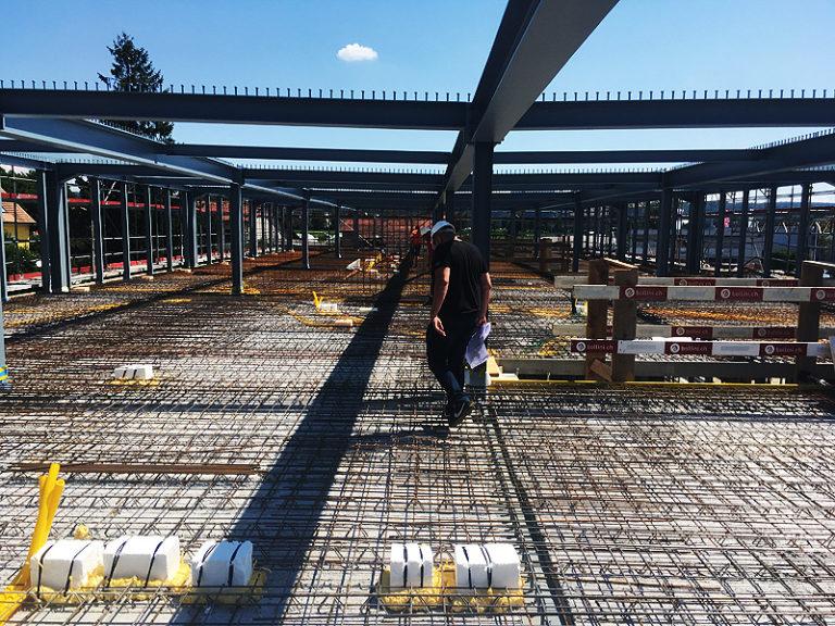 Bollini - Bâtiment - Dallage - halle industrielle