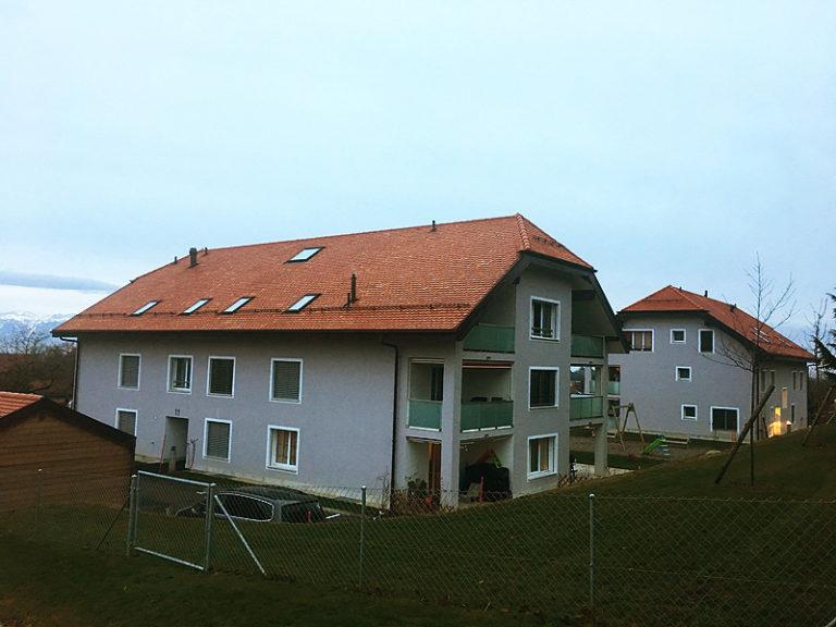 Bollini - Bâtiment - construction 3 immeubles habitation senarclens