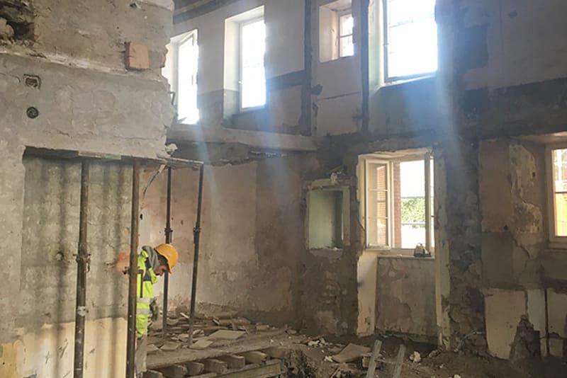 Bollini - Rénovation - Travaux de transformation