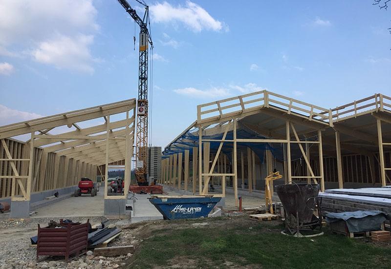 Bâtiment - Communauté Champ du Bois à Orges - Construction d'une exploitation agricole