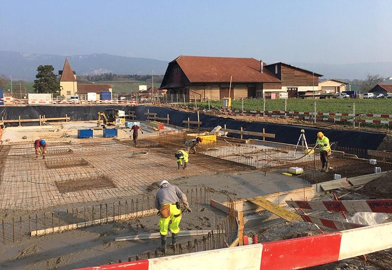 Mathod - Construction de 2 immeubles La Résidence du Vieux Battoir